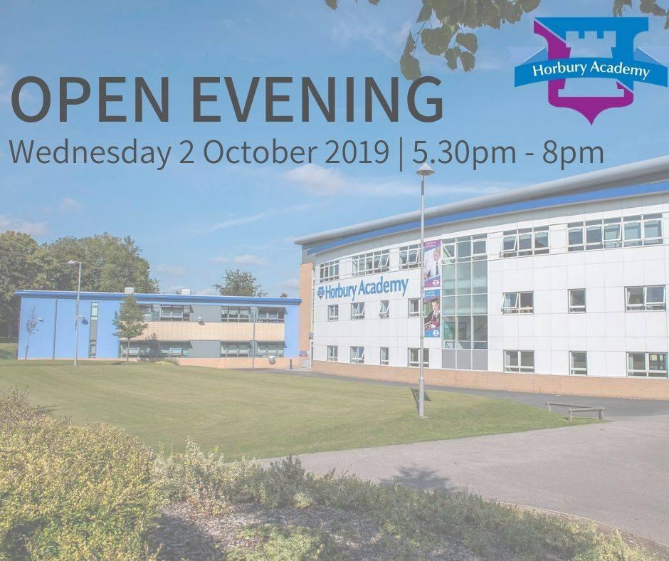 Horbury Academy Open Evening 2019