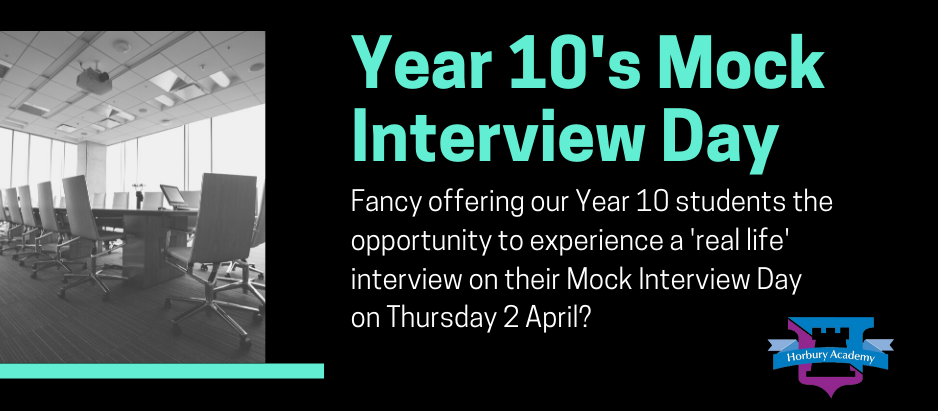 Fancy being a part of our mock interview panel?